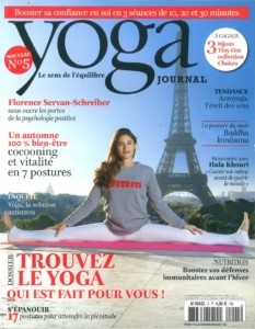 article Yoga Journal couv