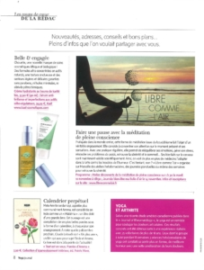 article Yoga journal A4