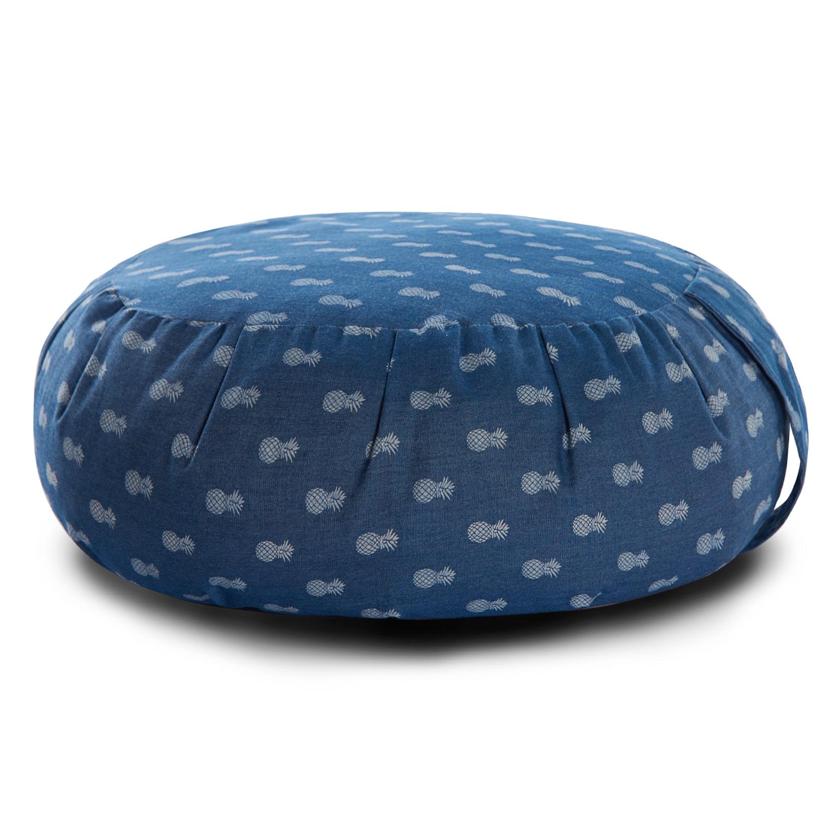 coussin de m ditation zafu tooty fruity libre comme l 39 air. Black Bedroom Furniture Sets. Home Design Ideas