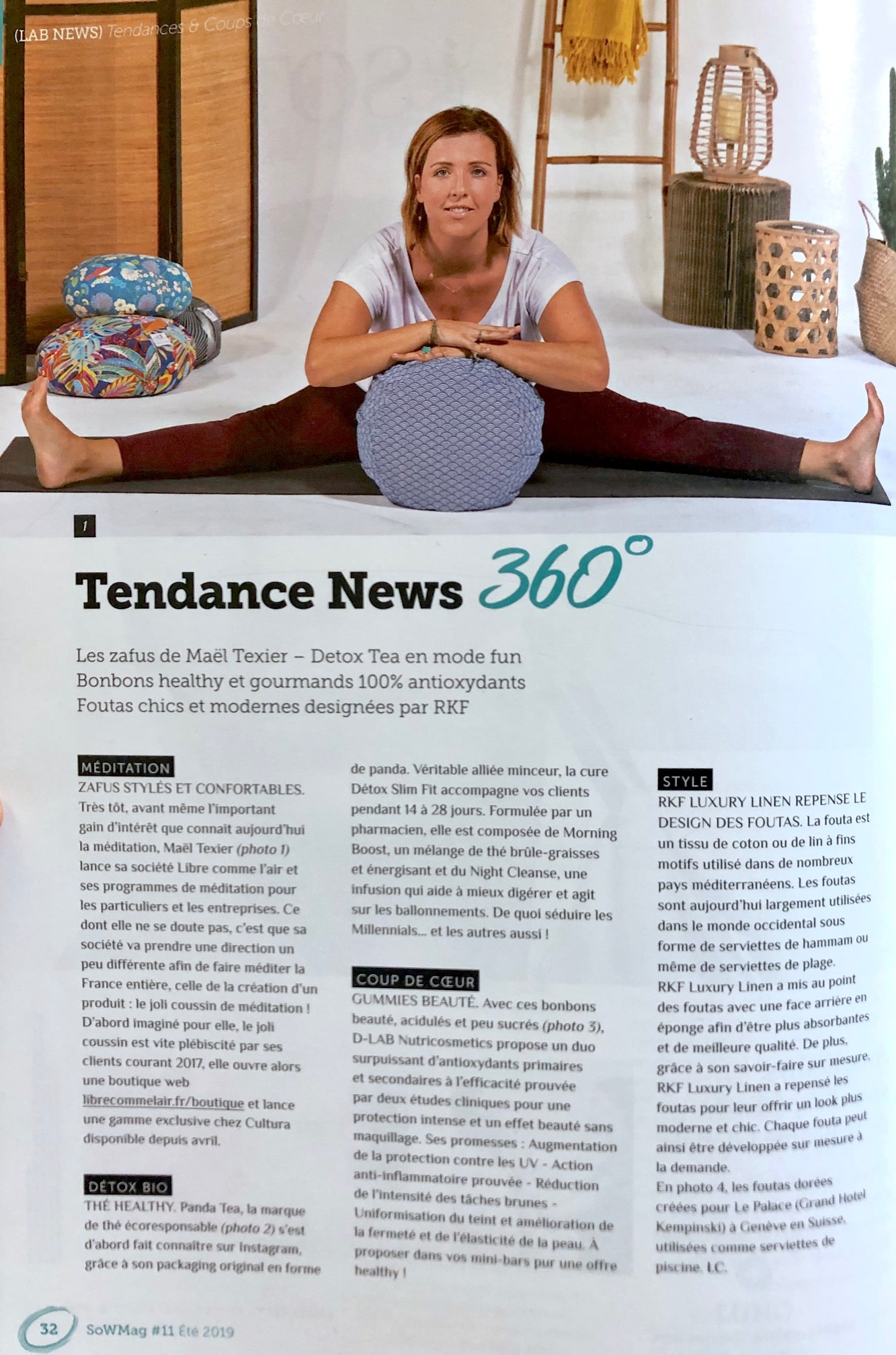 Magazine bien être sense of Wellness