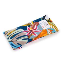 bandeau relaxant yeux lavande multicolore motif tropicale creation française