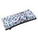 bandeau relaxant pour les yeux motifs terrazzo bleu blanc et rouge